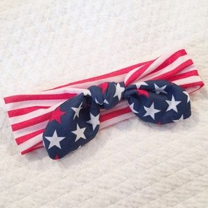 Other - USA HEADWRAP HEADBAND KNOTTED BABY TODDLER
